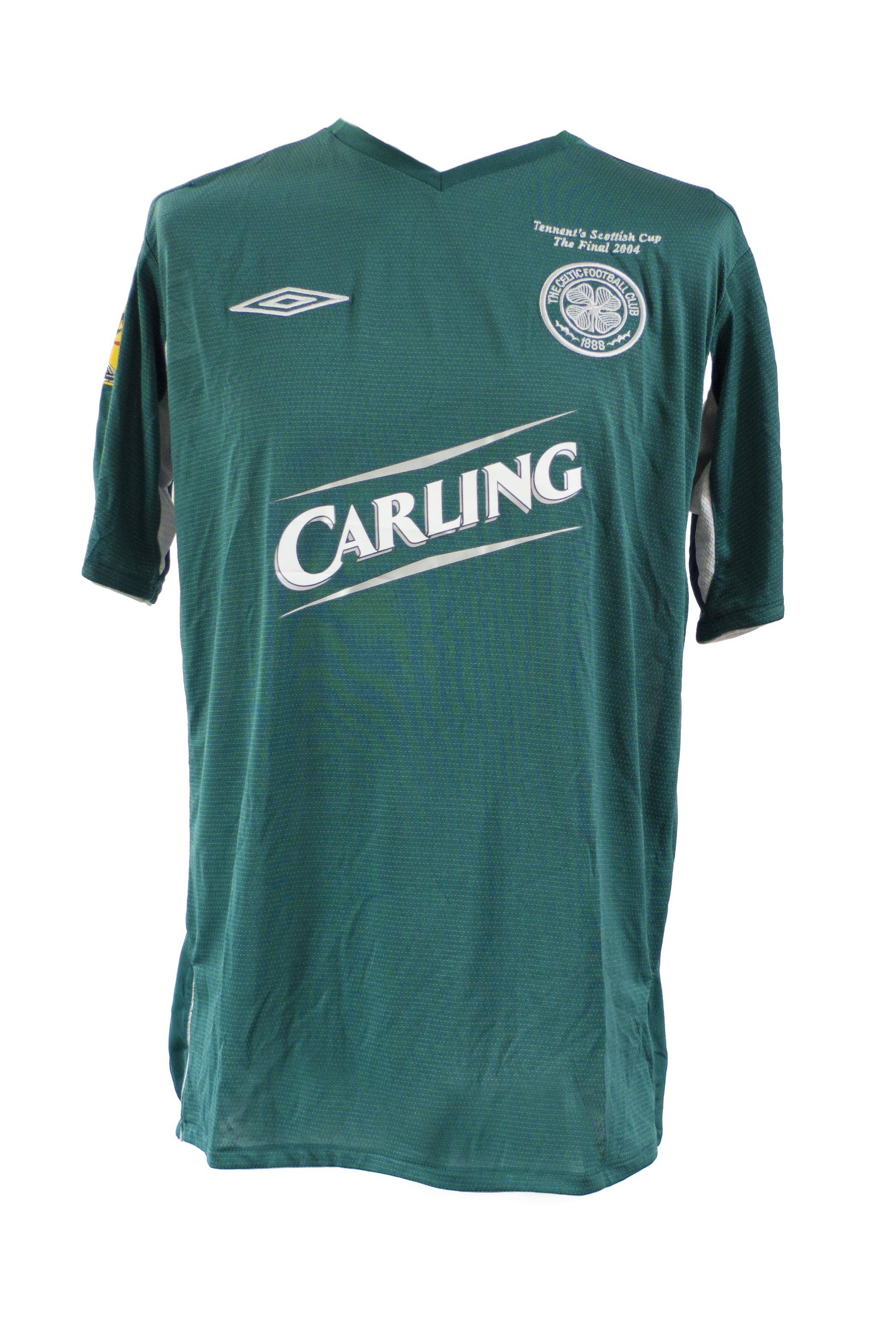 Neil Lennon - Scottish Cup Final 2004