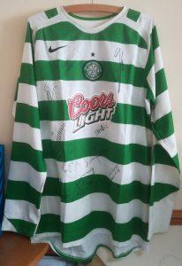 Alan Thompson's Celtic vs Chivas of Guadalajara Matchworn Shirt - Front