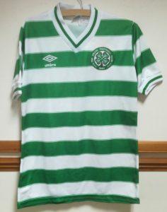 Danny McGrain - Celtic v Real Sociedad 1982 - Front