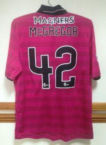 McGregor - Match Issue - 2016-17 - Rear