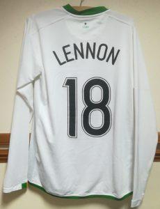 Neil Lennon vs DC United 2006 - Rear